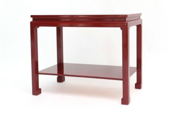 Пара приставных столиков в китайском стиле