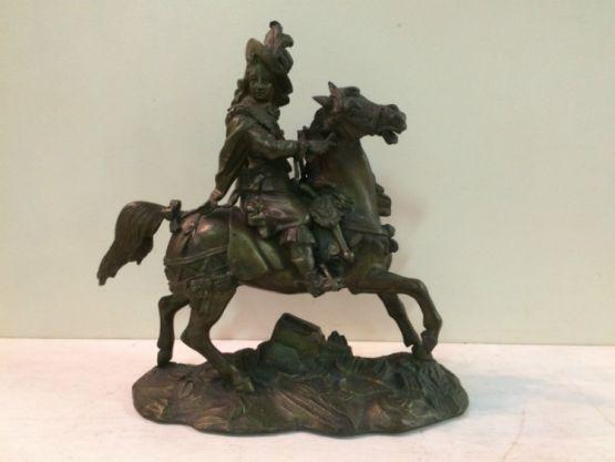 Небольшая бронзовая статуя, XIX век