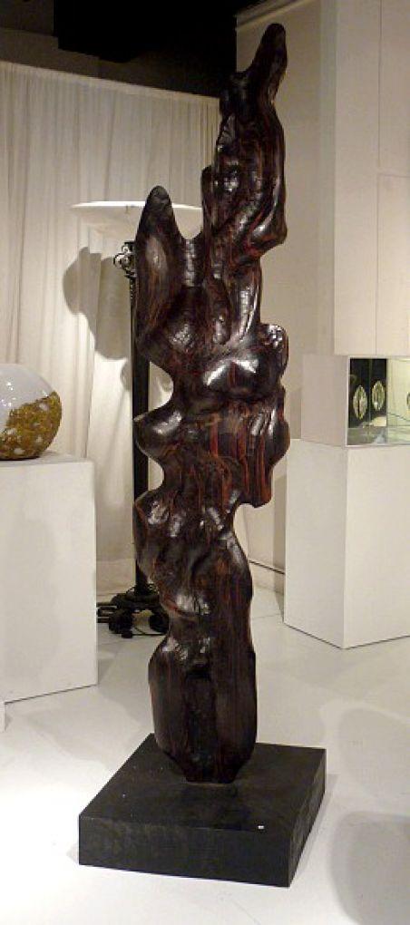 Скульптура из дерева, 1970 г.