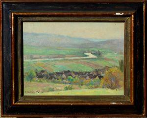 Пейзаж. Edouard Bernaut, XX в.