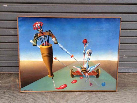 Картина 'Кола с маком', 1973