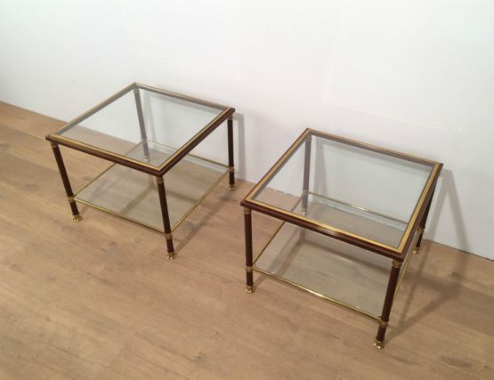 Пара приставных столиков, около 1970 г.