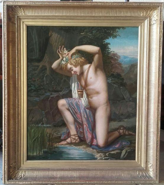 'Аполлон'. Jean Louis Loubet, XIX в.