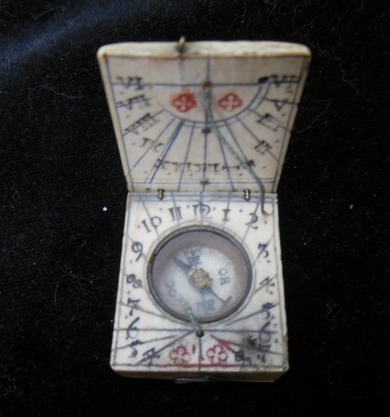 Карманные солнечные часы. Нюрнберг, XVII в.