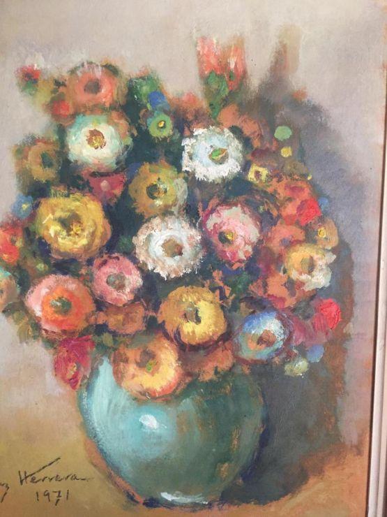 'Букет цветов'. José Cruz Herrera,  ХХ в.