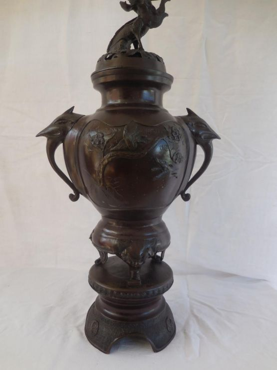 Бронзовая ваза. Япония, XVIII в.