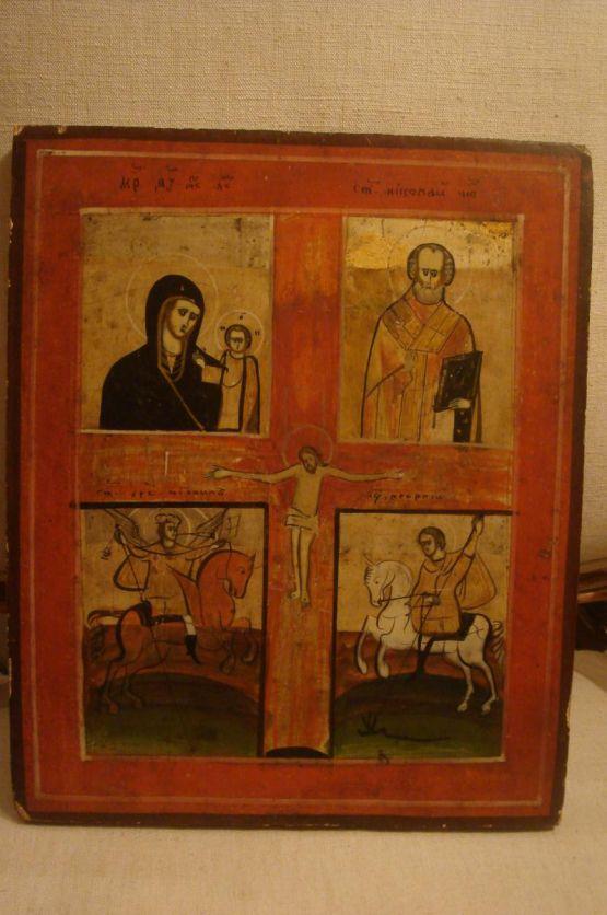 Старинная икона, XIX в.