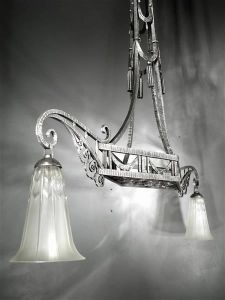 Люстра. Lorrain Daum, 1920-1930 гг.