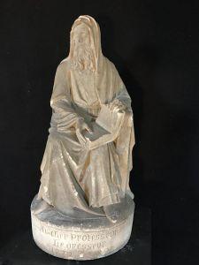 Скульптура Святого Луки из камня, XIX в.