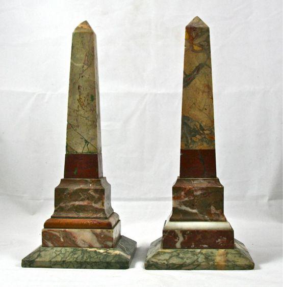 Два мраморных обелиска, к. XIX в.