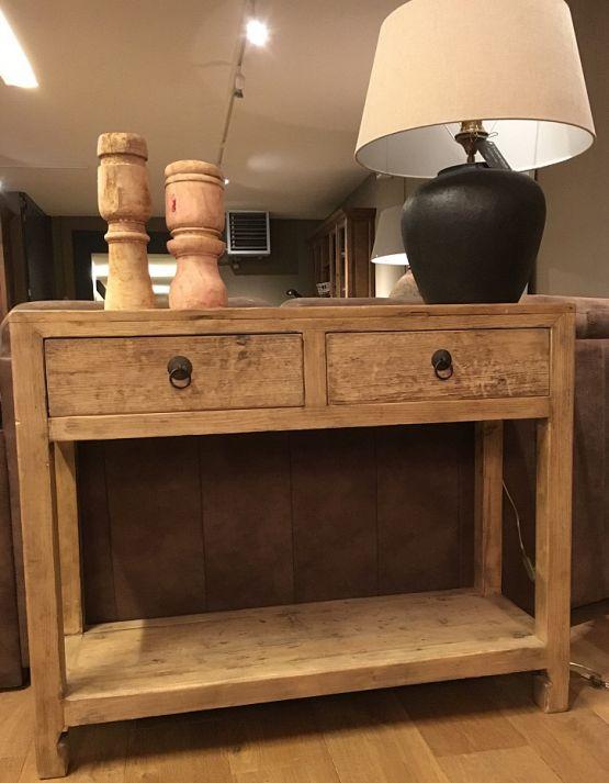 Старинный стол из массивы сосны