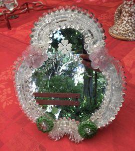 Зеркало в раме из муранского стекла, начало ХХ в.