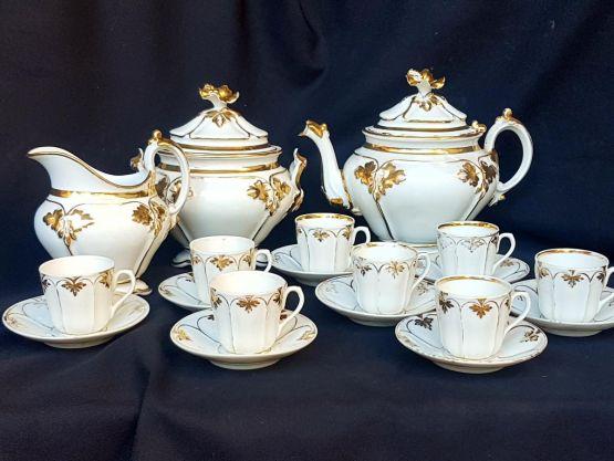 Кофейный сервиз эпохи Луи-Филиппа I, XIX в.
