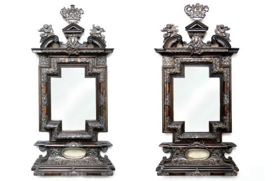 Два зеркала XVII в.