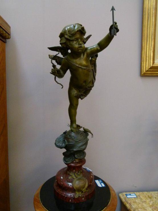 Бронзовая скульптура 'Чемпион'