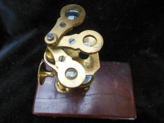 Дорожный микроскоп, XIX в.