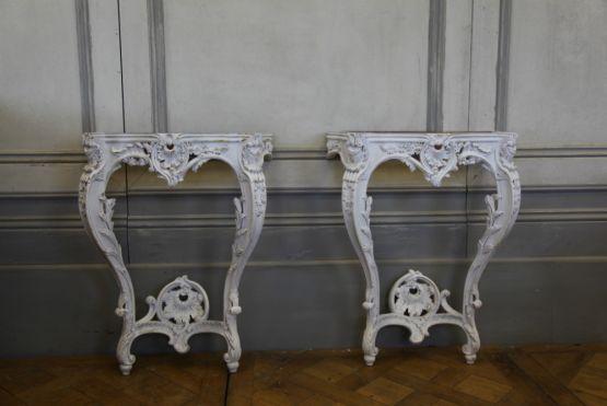Консоли в стиле Людовика XV