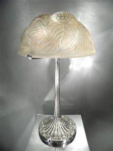 Настольная лампа. Rene Lalique, 1925 г.