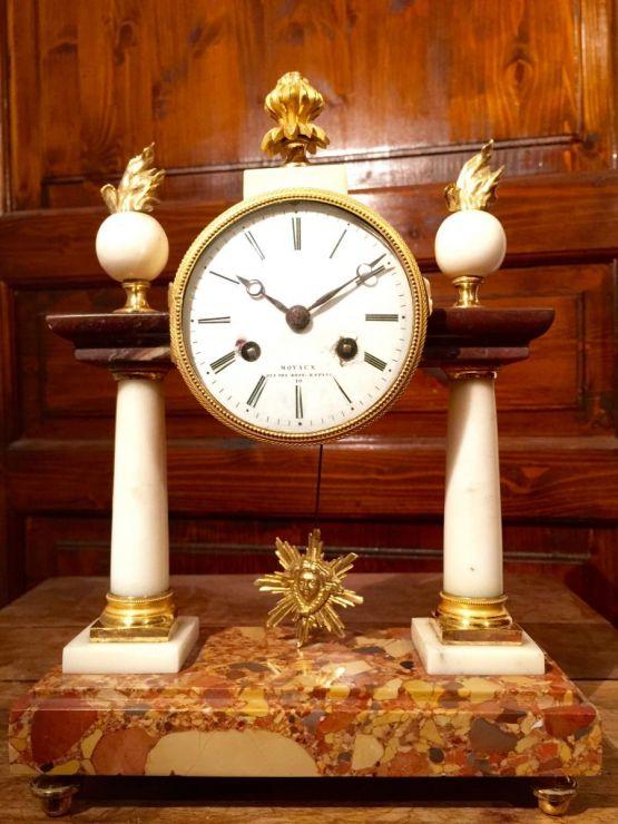 Старинные часы-портик в стиле Людовика XVI, XVIII