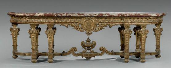 Консоль в стиле Людовика XIV, XIX век