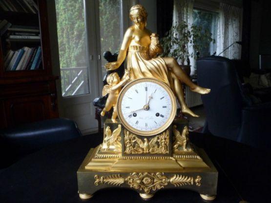 Французские каминные часы, 41 см