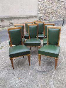 Набор из восьми стульев, 1940-ые гг.