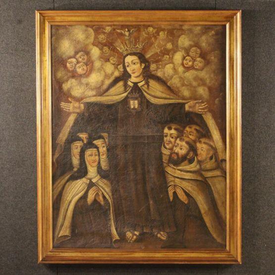 'Поклонение'. Испания, XVIII в.