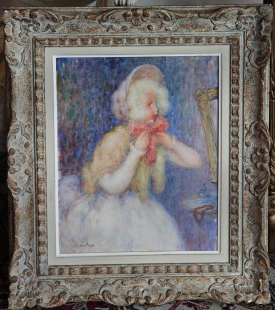 'Куколка'. Lucien Boulier (1882-1963), XX в.