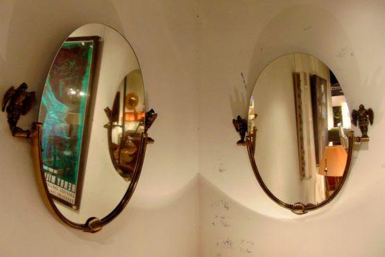 Два зеркала, дизайн 'Мейсон-Янсен'.