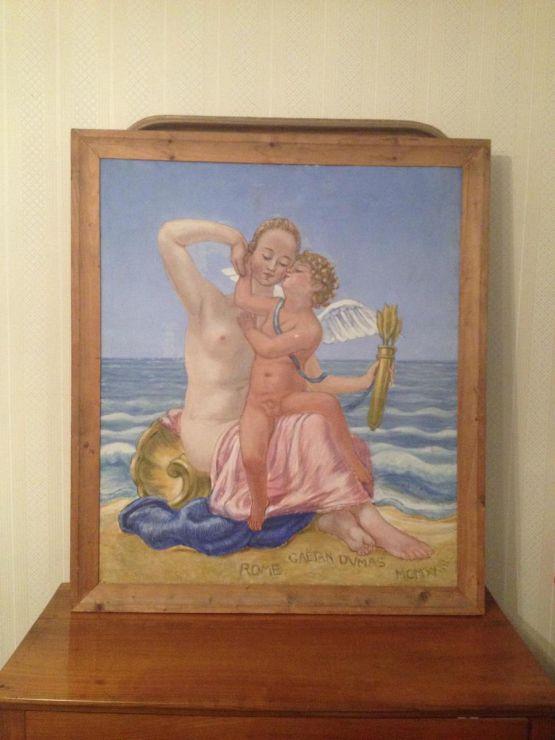 'Венера и Амур'. Gaetan Dumas, ХХ в.