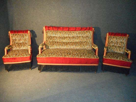 Гарнитур для гостиной в стиле Наполеона III, XIX в