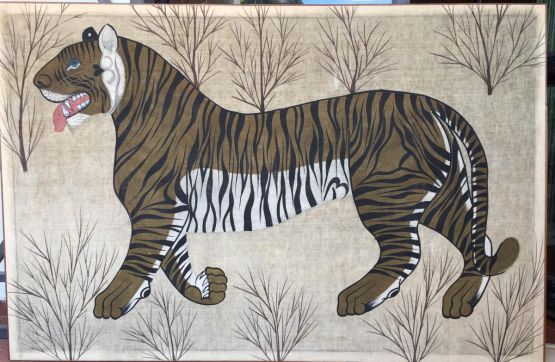 'Тигр'. Индия, ХХ в.