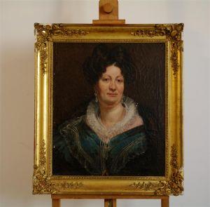 Портрет женщины. Франция, около 1800 г.