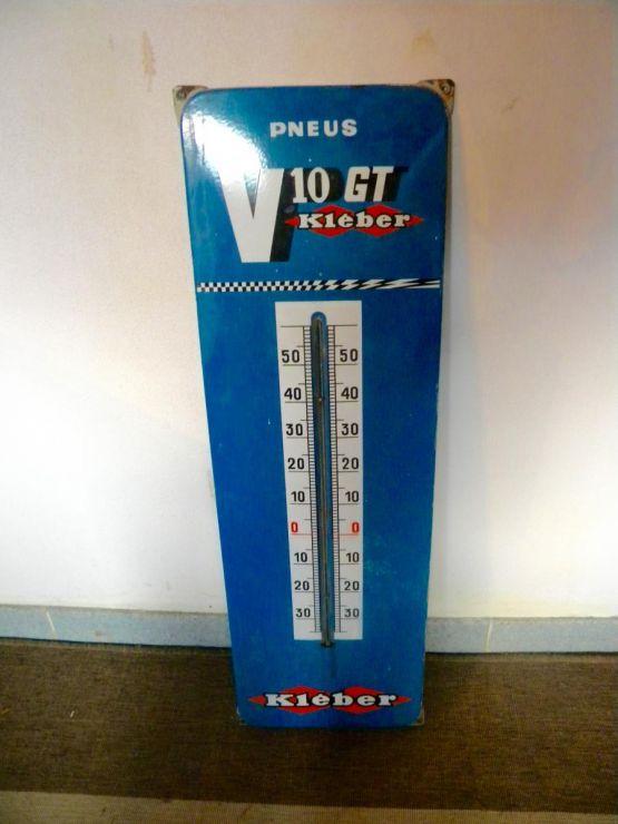 Рекламная табличка термометров 'Клебер', XX в.