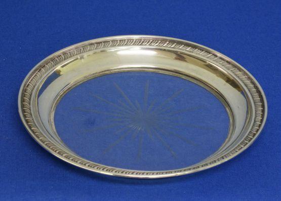 Серебряная подставка, 14 см