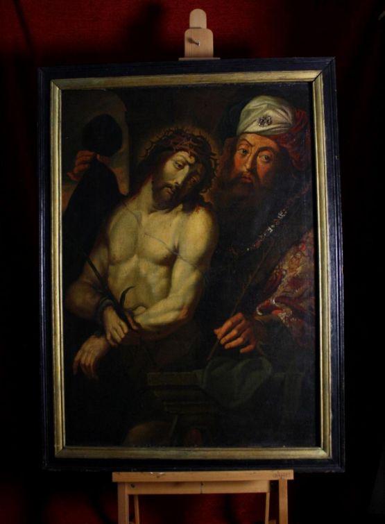 Картина 'Иисус Христос и Понтий Пилат', XVI в.
