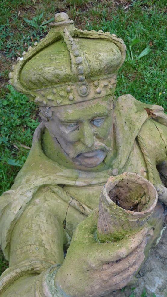 Скульптура из терракоты, начало XIX в.