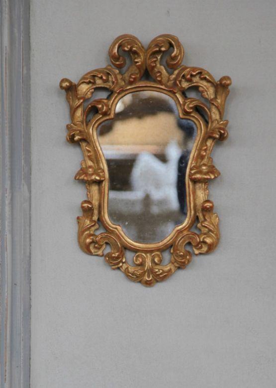 Зеркало в резной раме эпохи Людовика XV