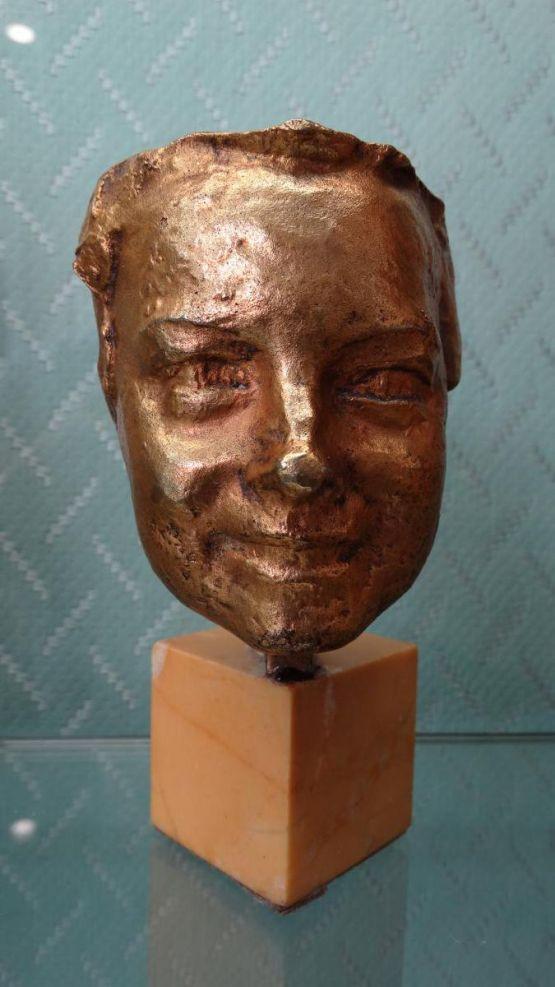 Бюст-маска. Félix Desruelles, ХХ в.