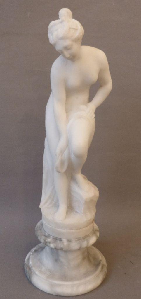 'Венера, принимающая ванну', XIX в.