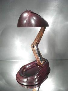 Настольная лампа в стиле Ар-Деко. JUMO, 1930-1940