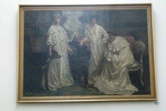 Картина Е. Клаэса, 1907 г.