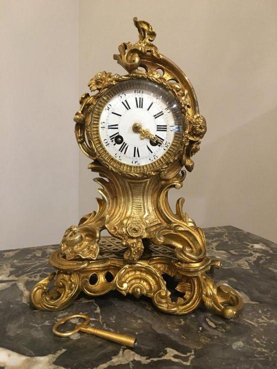 Часы из бронзы, поздний XIX в.