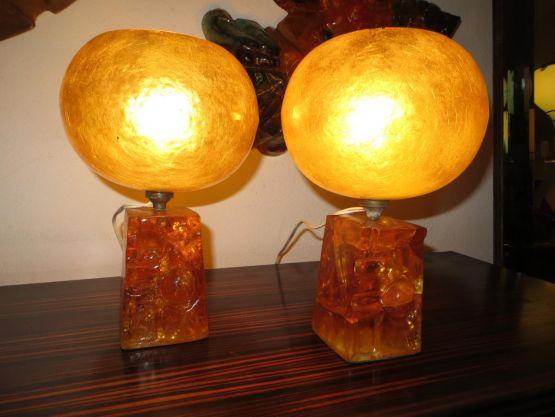 Две лампы из резины. Matius, ХХ в.