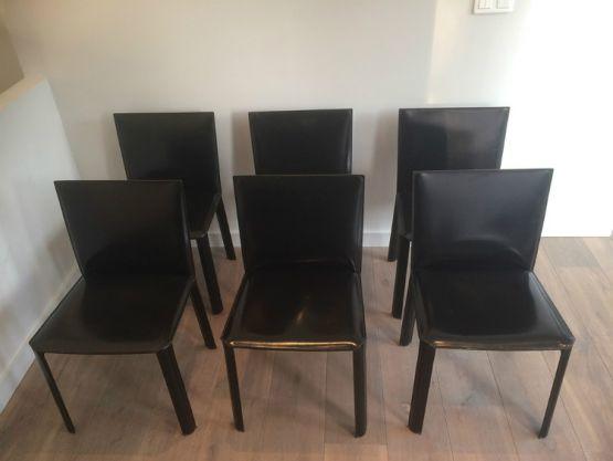 Набор из шести стульев. Бразилия, 1980 г