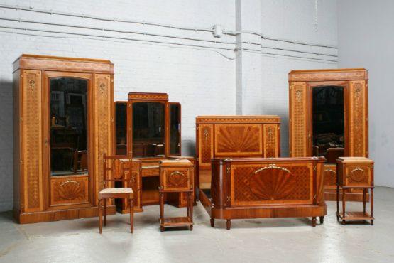 Гарнитур для спальни, стиль Людовика XVI