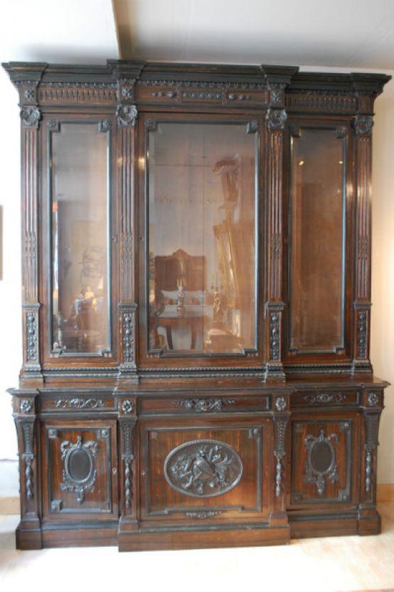 Книжный шкаф, 1850-1870 гг.