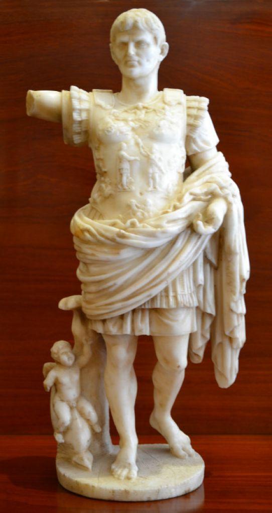 Статуя императора Августа, XIX в.