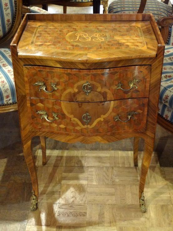 Кофейный столик эпохи Людовика XV, XVIII в.