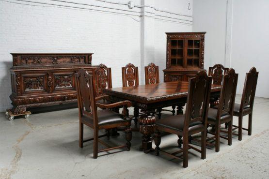 Гарнитур для столовой выполненный в стиле брейгель